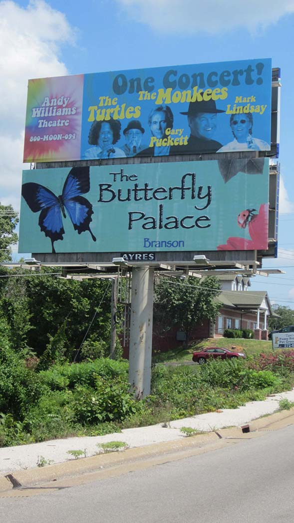 The TOP Location on the EASTBOUND side of this billboard is currently AVAILABLE for lease!